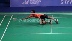 Indosport - Rekap hasil babak semifinal BWF World Tour Finals 2019 sesi 1, Sabtu (14/12/19) di Guangzhou, China, di mana Anthony Ginting lolos ke final.
