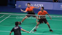 Indosport - Menang di SEA Games, Wahyu Nayaka/Ade Yusuf Beri Pembuktian ke Coach Herry IP