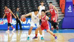 Indosport - Andakara Prastawa di laga basket Timnas Indonesia vs Thailand SEA Games 2019.