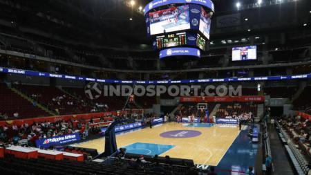 Mall of Asia Arena jadi salah satu venue pertandingan basket di SEA Games 2019. Foto: Ronald Seger Prabowo/INDOSPORT - INDOSPORT