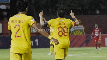 - Kemenangan 3-0 Bhayangkara FC atas Persija Jakarta di lanjutan Liga 2 2019, Rabu (04/11/19) membuat The Guardian menempati posisi keempat klasemen sementara. - INDOSPORT