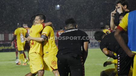 Bhayangkara FC sukses kalahkan Persija Jakarta di kandang dalam pertandingan Liga 1 2019 pekan ke-30. - INDOSPORT