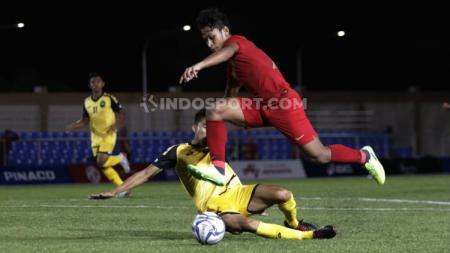 Timnas Indonesia U-23 akan melawan Laos pada laga terakhir Grup B SEA Games 2019, Kamis (05/11/19) di Cative Stadium. - INDOSPORT