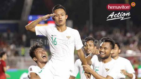 Dengan menurunkan skuat terbaik, empat pemain Timnas Indonesia U-23 diprediksi bakal bersinar di laga terakhir Grup B SEA Games melawan Laos sore nanti. - INDOSPORT