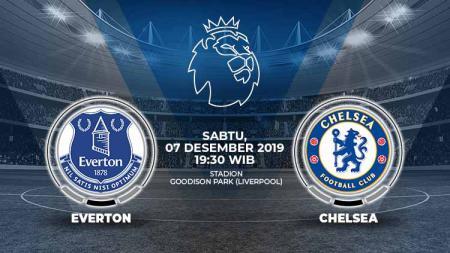 Berikut prediksi pertandingan antara Everton vs Chelsea dalam lanjutan pekan ke-16 Liga Inggris, Sabtu (07/12/19) di Goodison Park. - INDOSPORT