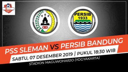 Prediksi pertandingan pekan ke-31 Shopee Liga 1 2019 antara PSS Sleman vs Persib Bandung, Sabtu (07/12/19). - INDOSPORT