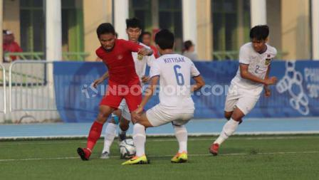 Timnas Indonesia U-23 lolos ke semifinal SEA Games 2019.