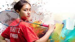 Indosport - Pebulutangkis cantik Myanmar, Thet Htar Thuzar