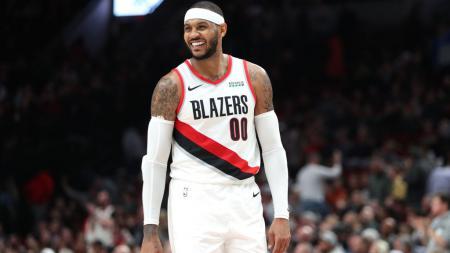 Tim basket NBA, Portland Trail Blazers membuat keputusan untuk mengubah kontrak Carmelo Anthony yang sebelumnya non garansi menjadi digaransi. - INDOSPORT