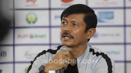 Pelatih Timnas Indonesia U-23, Indra Sjafri. - INDOSPORT