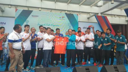 Salah satu kontestan Pro Futsal League 2020, IPC Pelindo resmi diperkenalkan. - INDOSPORT