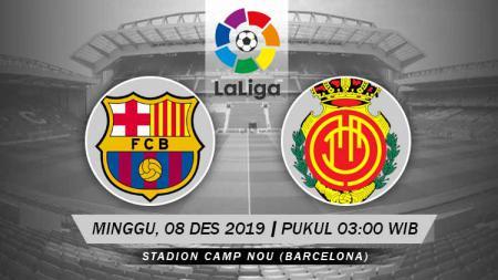 Link Live Streaming Pertandingan LaLiga Spanyol: Barcelona vs Real Mallorca. - INDOSPORT
