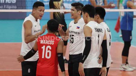 Timnas Voli Putra Indonesia akan berhadapan dengan Myanmar pada semifinal SEA Games 2019 usai mempermalukan tuan rumah, Filipina. - INDOSPORT