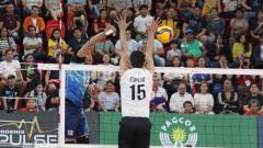 Indosport - Tim voli putra Indonesia menunjukkan performa impresif di babak penyisihan SEA Games 2019.