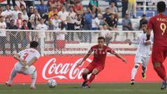 Indosport - Kontribusi Egy Maulana Vikri (tengah) untuk Timnas Indonesia U-23 yang lolos ke final SEA Games 2019 mendapat perhatian dari klubnya, Lechia Gdansk.