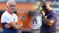 Indosport - Mario Gomez dan Jacksen F Tiago seperti malaikat pembangkit performa klub Liga 1.