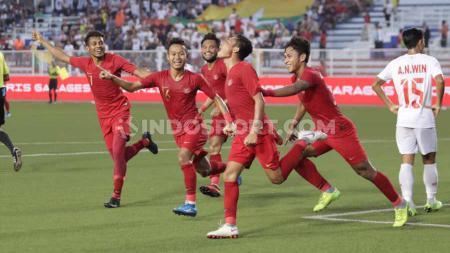 Timnas Indonesia U-23 masih memiliki setidaknya tiga kelemahan jelang menghadapi Vietnam U-23 di final sepak bola putra SEA Games 2019. - INDOSPORT