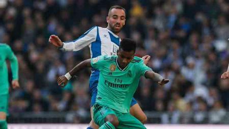 Hasil pertandingan LaLiga Spanyol antara Real Madrid vs Espanyol pada Sabtu (7/12/19) malam WIB. - INDOSPORT