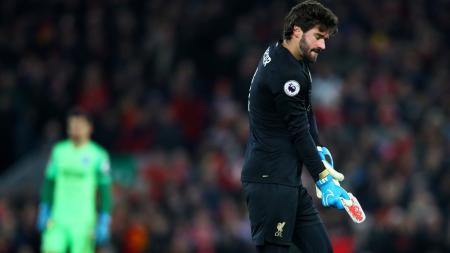 Kiper Liverpool, Alisson Becker - INDOSPORT