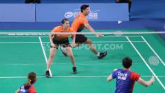 Indosport - Pertandingan babak semifinal bulutangkis SEA Games 2019 dibanjiri para penonton, Minggu (08/12/19).