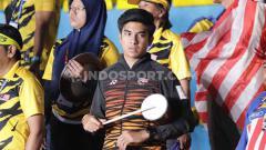 Indosport - Eks Menpora Malaysia, Syed Saddiq di semifinal SEA Games (08/12/19).