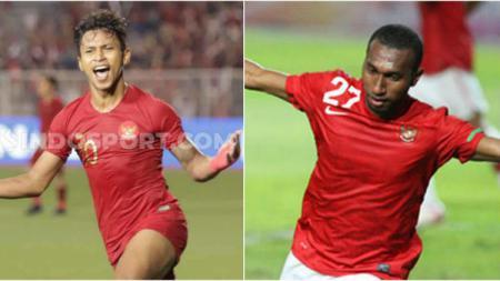 Osvaldo Haay dan Patrich Wanggai menjadi striker andalan Timnas Indonesia U-23 di SEA Games. - INDOSPORT