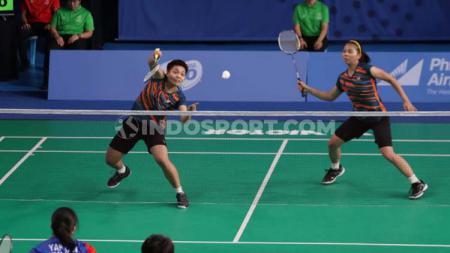 Pasangan ganda putri Indonesia, Greysia Polii/Apriyani Rahayu sukses memecahkan rekor individu usai dinyatakan lolos ke babak semifinal Malaysia Masters 2020. - INDOSPORT