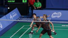 Indosport - Greysia Polii dan Apriyani Rahayu, ganda putri andalan Indonesia di BWF World Tour Finals 2019.