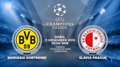 Indosport - Berikut prediksi pertandingan antara Borussia Dortmund vs Slavia Praha dalam lanjutan grup F Liga Champions 2019-2020