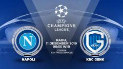 Indosport - Prediksi pertandingan Liga Champions antara Napoli vs Genk, Rabu (11/12/19) dini hari WIB.