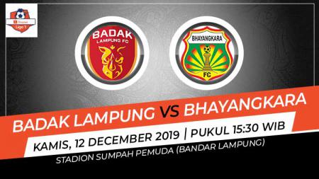 Bhayangkara FC berhasil meraih angka penuh setelah menaklukkan Badak Lampung FC dengan skor 3-2 dalam lanjutan pekan ke-32 Liga 1 2019, Kamis (12/12/19). - INDOSPORT