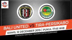 Indosport - Prediksi pertandingan antara Bali United vs Tira-Persikabo di pekan ke-32 kompetisi Liga 1 2019.