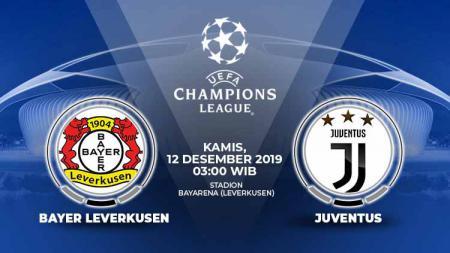 Memasuki matchday terakhir Liga Champions 2019-2020, Bayer Leverkusen harus menjamu Juventus, Kamis (12/12/19). Berikut link live streaming untuk menyaksikan. - INDOSPORT