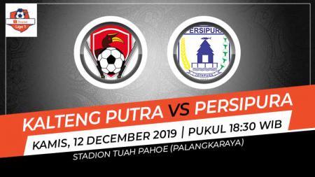 Link live streaming pertandingan pekan ke-32 Shopee Liga 1 2019 antara Kalteng Putra vs Persipura Jayapura, Kamis (12/12/19) mulai pukul 18.30 WIB. - INDOSPORT