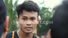 Indosport - Pemain muda Persebaya Surabaya, Koko Ari Araya, sudah kembali lagi berlatih setelah dipanggil ke pemusatan latihan Timnas Indonesia.