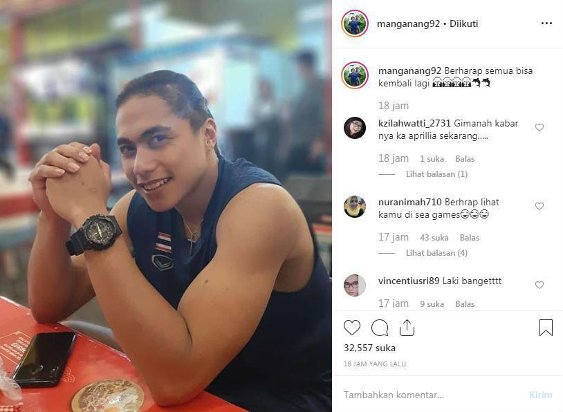Atlet voli putri Indonesia, Aprilia Manganang, mengunggah fotonya di Instagram. Copyright: Instagram/Aprilia Manganang