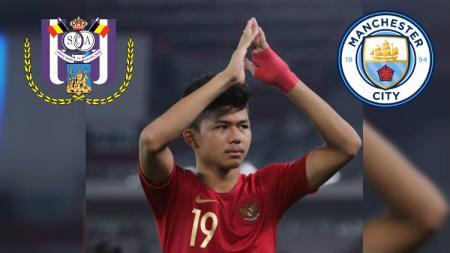 Pemain bintang Timnas Indonesia U-16 Athallah Araihan menarik perhatian klub raksasa Belgia, Anderlecht. - INDOSPORT