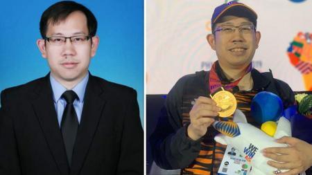Yew Weng Kean, peraih medali emas eSports SEA Games 2019 berprofesi sebagai asisten profesor. - INDOSPORT