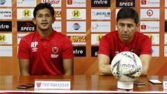 Indosport - Jumpa pers PSM Makassar sebelum melawan Barito Putera di Liga 1.