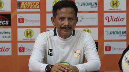 Jumpa pers Barito Putera sebelum melawan PSM Makassar. - INDOSPORT
