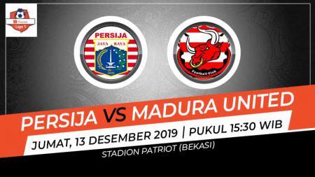 Prediksi pertandingan Liga 1 antara Persija Jakarta vs Madura United. - INDOSPORT