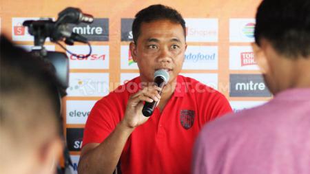 Asisten Pelatih Bali United, Eko Purdjianto. - INDOSPORT