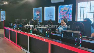 (GALERI FOTO) Mengintip Kemewahan eSports Center Tokyo Gaming Space Milik Reza Arap