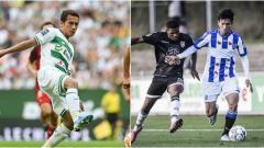 Indosport - Egy Maulana Vikri dan Doan Van Hau saat tampil di Eropa bersama klubnya masing-masing.