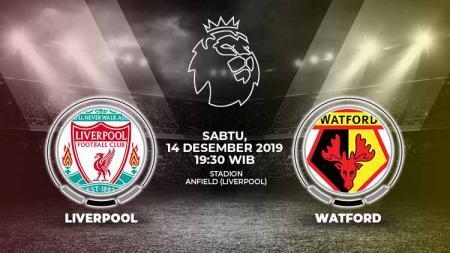 Berikut prediksi pertandingan sepak bola kompetisi Liga Inggris pada pekan ke-17 antara tuan rumah Liverpool vs Watford. - INDOSPORT