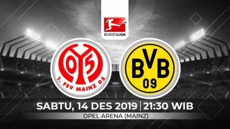 Pekan ke-15 kompetisi sepak bola Bundesliga Jerman 2019-2020 akan menyajikan partai seru antara Mainz vs Borussia Dortmund, Sabtu (14/12/19). - INDOSPORT