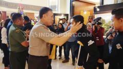 Indosport - Ketua Umum PSSI, Mochamad Iriawan alias Iwan Bule tetap bangga dengan perjuangan Evan Dimas dan kawan-kawan meski Timnas Indonesia U-23 hanya membawa pulang medali perak SEA Games 2019.