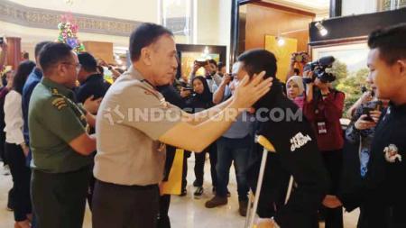 Ketua Umum PSSI, Mochamad Iriawan alias Iwan Bule tetap bangga dengan perjuangan Evan Dimas dan kawan-kawan meski Timnas Indonesia U-23 hanya membawa pulang medali perak SEA Games 2019. - INDOSPORT