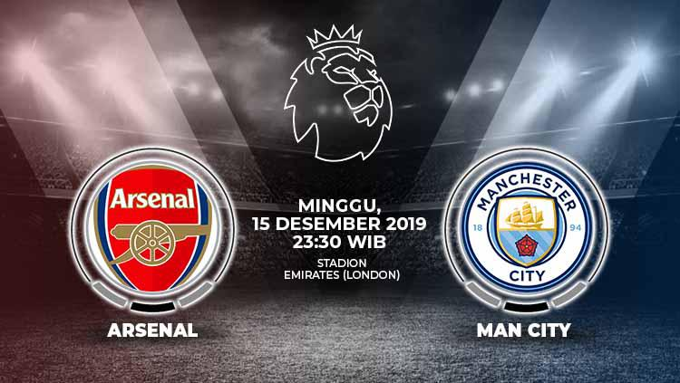 Link Live Streaming Pertandingan Liga Inggris: Arsenal vs Manchester City