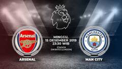 Indosport - Pertandingan antara Arsenal vs Manchester United.